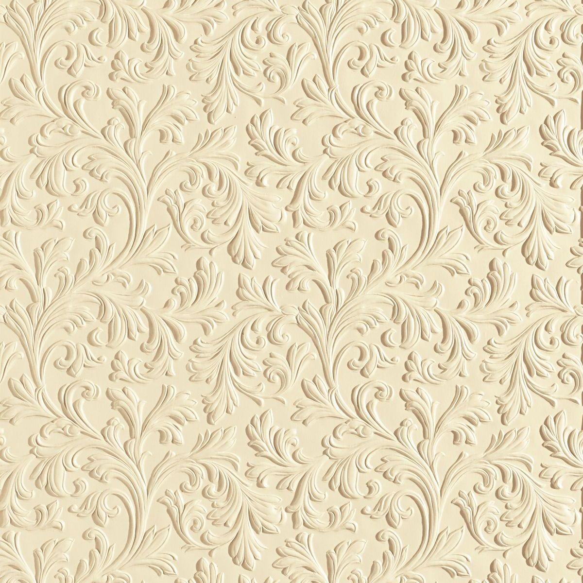 hochwertige tapeten und stoffe lincrusta acanthus rd1960. Black Bedroom Furniture Sets. Home Design Ideas